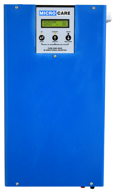 Microcare 1-5kW Bi-Directional Inverter