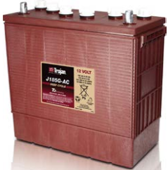 Trojan J185G AC - 185Ah @ C20 12v - Deep Cycle Battery