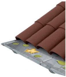 Universal Gutter Mesh Installed Product Image
