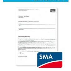 SMA Warranty Extension Image
